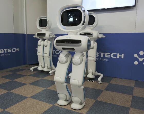 人形机器人研发企业优必选完成8.2亿美元C轮融资 腾讯领投