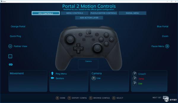 Steam测试版客户端现已支持Switch Pro手柄操控
