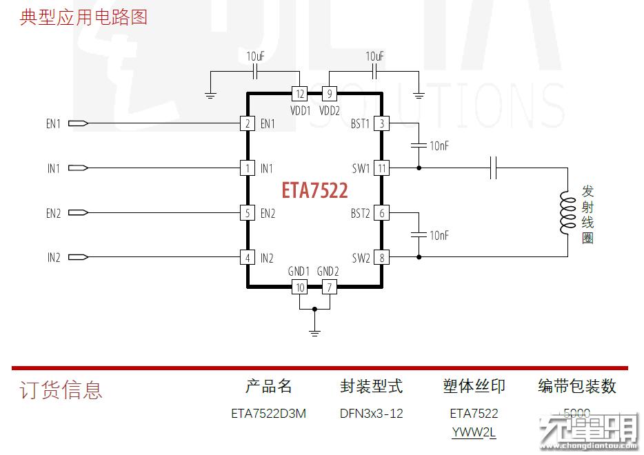 一颗顶六颗,钰泰发布ETA7522全集成驱动器
