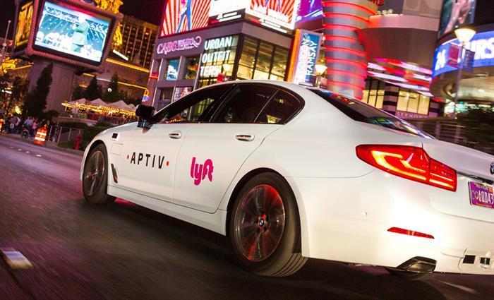 Aptiv面向公众投放30辆自动驾驶汽车,已于拉斯维加斯Lyft平台上线