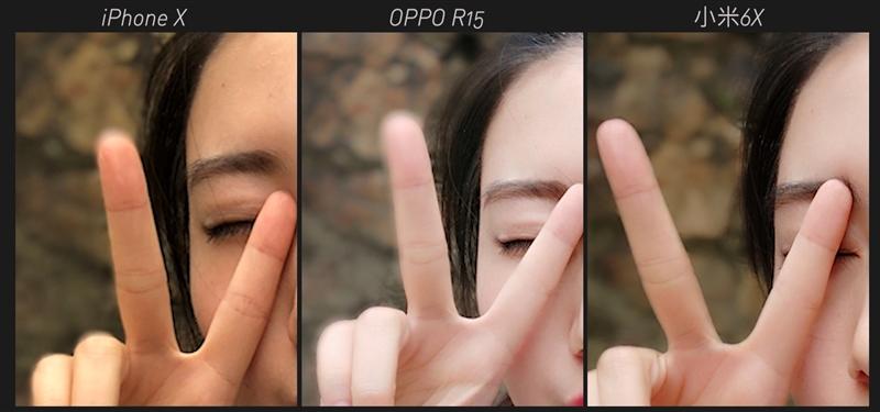 2000万自拍对决 小米6X和OPPO R15前置人像对比