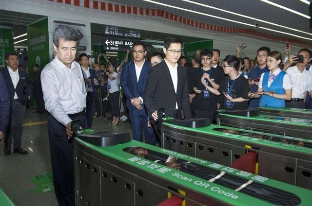 深圳今年地铁机闸将全部支持扫码过闸