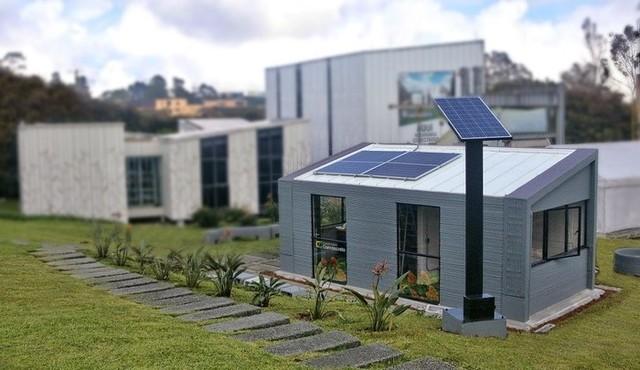 Constructora Conconcreto在哥伦比亚3D打印房屋