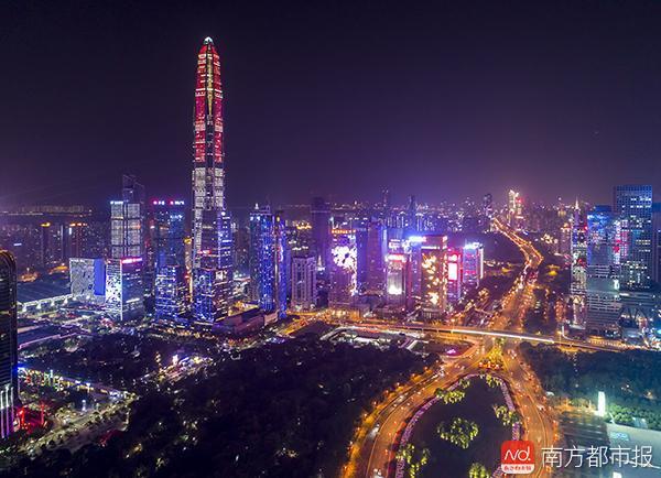 深圳300多高楼将张灯结彩增大量LED 城管回应会否致光污染