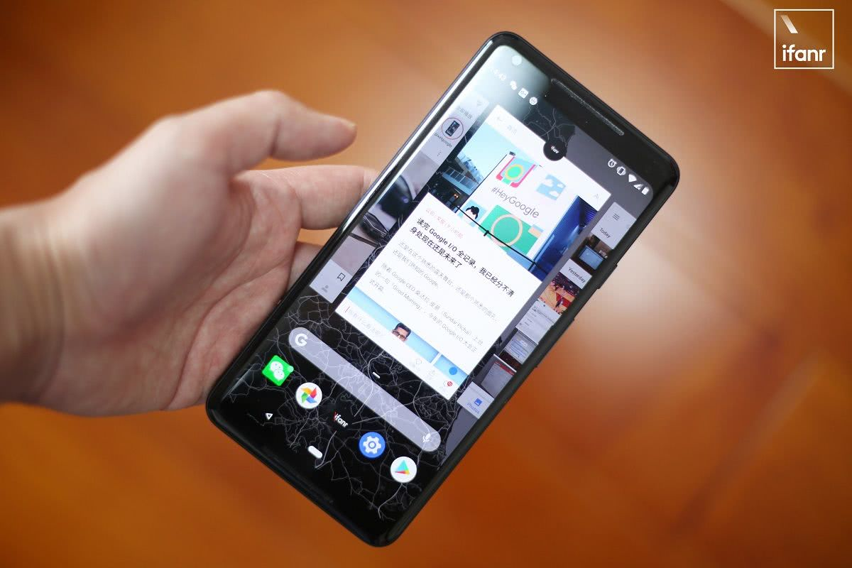 一文读懂安卓新系统手势到底抄没抄袭iPhone X
