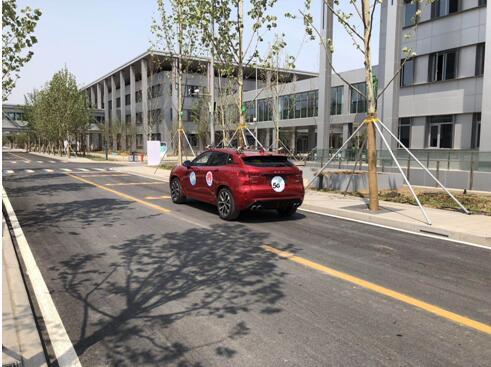 雄安新区移动在市民服务中心完成5G远程自动驾驶行驶测试