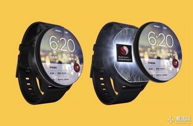 两年了 Wear  OS智能手表终于等到高通新核