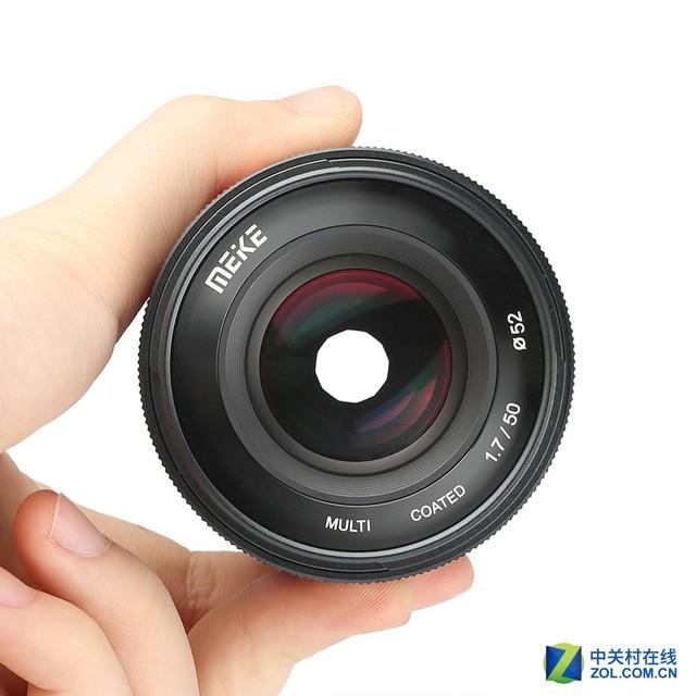 索尼用户新选择 美科发布50mm F1.7镜头