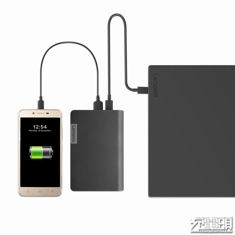 联想推出首款USB PD快充移动电源,可直接为ThinkPad供电