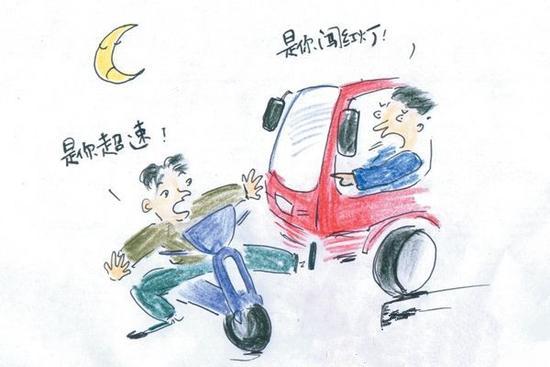 走街串巷的电动车违章也会被罚 AI交警终结交通乱象