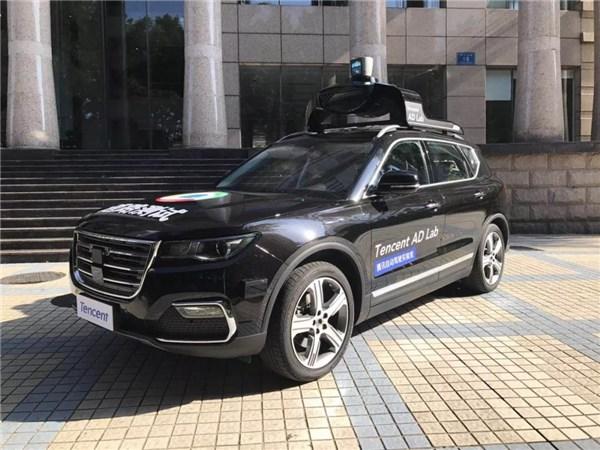 腾讯获深圳市自动驾驶路测牌照