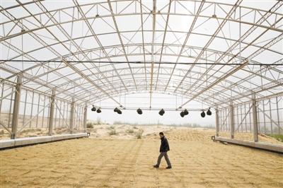 我国建成沙区大型称重式蒸渗仪群