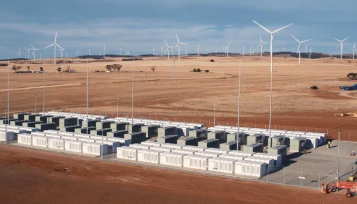 特斯拉电池储能装置使南澳州电网服务成本下降90%
