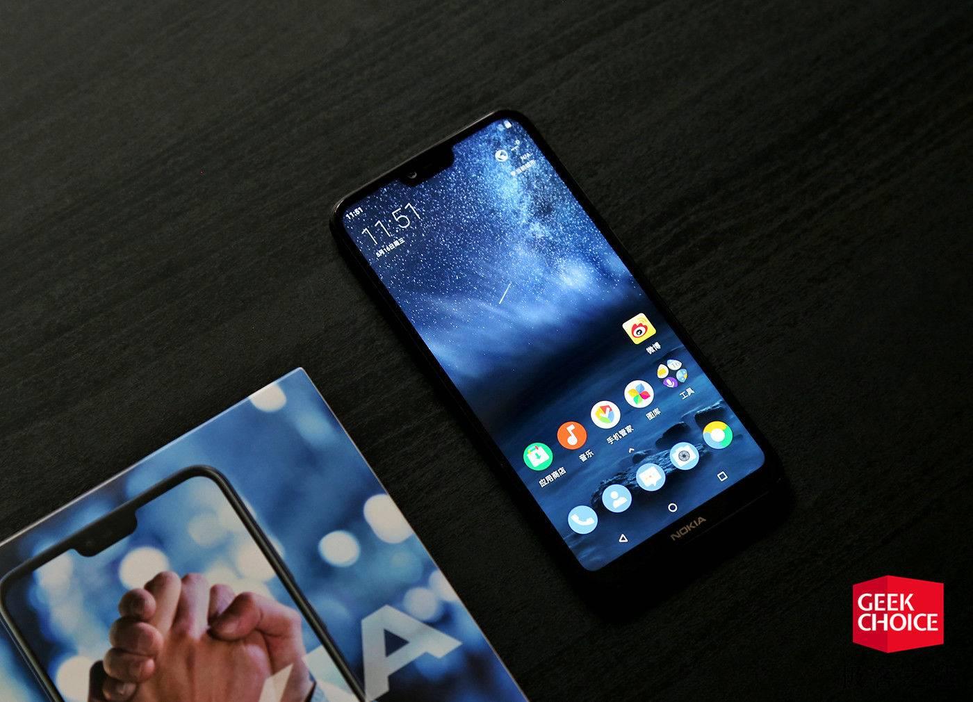 Nokia X6上手评测:刘海屏+骁龙636,却只要1299元