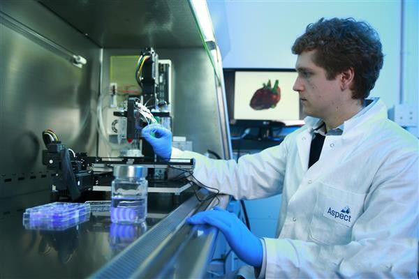 Aspect获得100万美元支持 继续研发3D打印人体组织