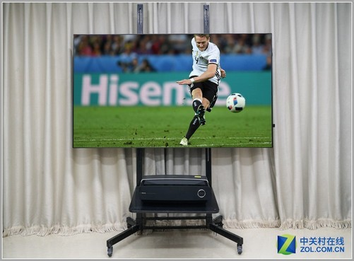 世界杯电视换代首选:海信80吋4K激光电视首测