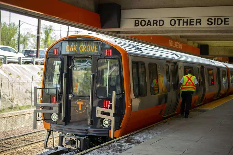 """""""中国制造""""为波士顿百年地铁注入新动力"""
