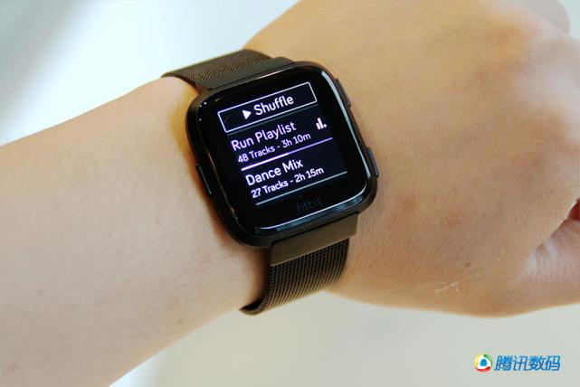fitbit versa智能手表发布:比男友更懂你的健康助手