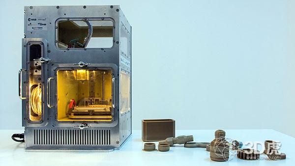 欧洲空间局测试在微重力环境下工作的原型3D打印机
