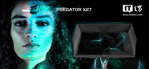 宏碁发首款集4K、HDR、G-Sync专业级显示器