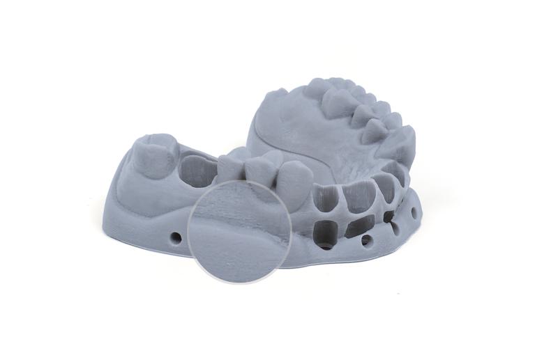 迅实科技推出大幅面DLP 3D打印机 一次可以打印30个牙模