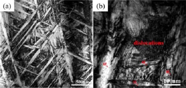 新型钛基复合材料,热处理后的拉伸与断裂韧性性能