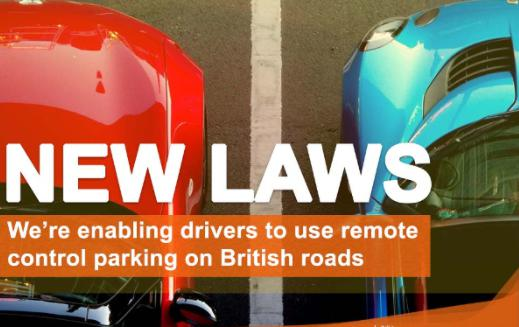 英国引入新交通法规 遥控停车等ADAS功能助力自动驾驶
