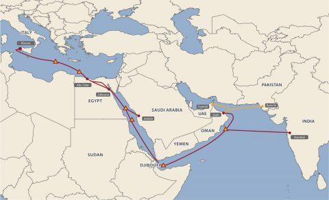 埃及电信收购奥斯康电信持有的中东北非海底电缆股份
