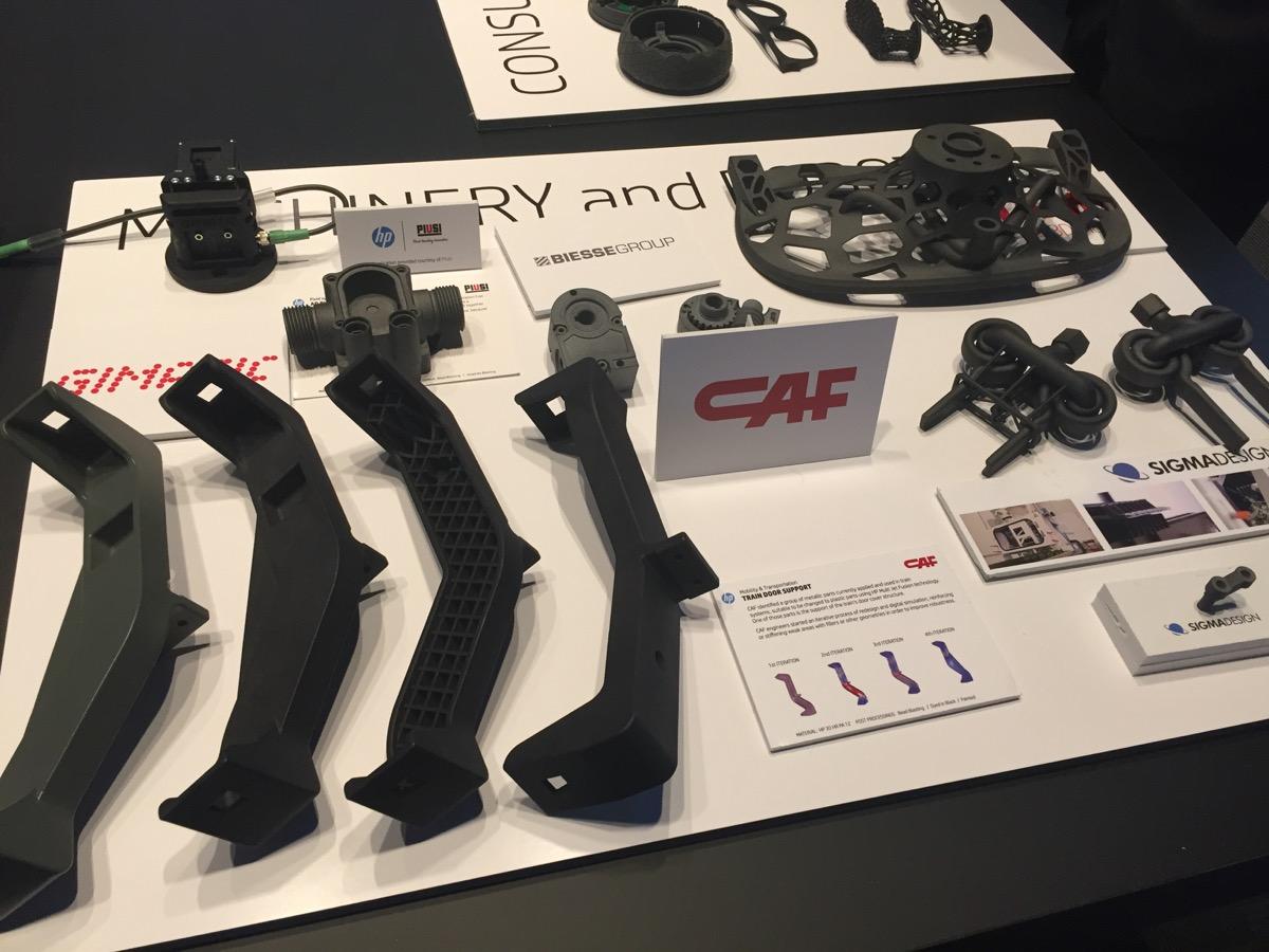 HP展示Multi Jet Fusion 3D打印制造业的突破性应用