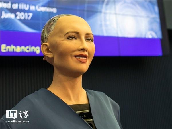 机器人索菲亚之父:2045年人类将可以和机器人结婚