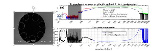 上海光机所在抗光子暗化、深紫外传能空芯光纤研究中获进展