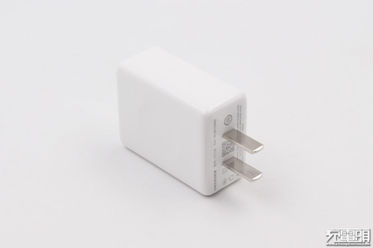 坚果R1原装QC4+充电器评测:兼容USB PD3.0,PPS及QC3.0快充