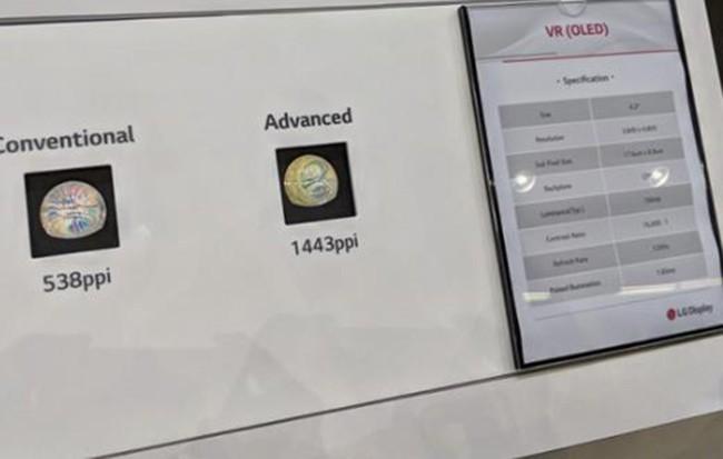 让VR与AR提升刷新率 LG与谷歌推出OLED屏