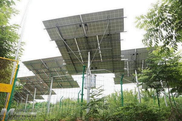绵阳首座太阳能提灌站在徐家镇投用