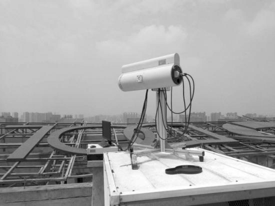 3D可视型激光雷达20秒能测5公里内大气状况