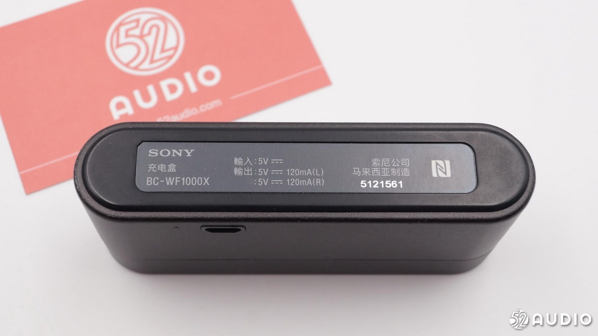 Sony索尼WF-1000X无线降噪耳机标配充电盒开箱拆解