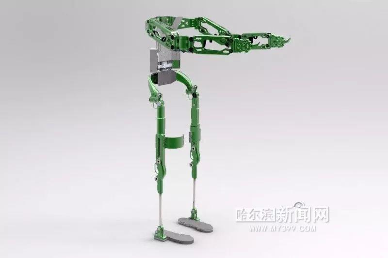 """穿戴式外骨骼机器人 让人类秒变""""钢铁侠"""