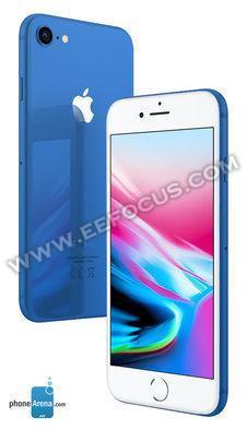 最新消息!2018新iPhone将增加蓝、黄、粉三色版本
