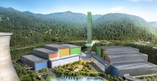 长沙建成首个生活垃圾焚烧发电厂 日吞5000吨垃圾