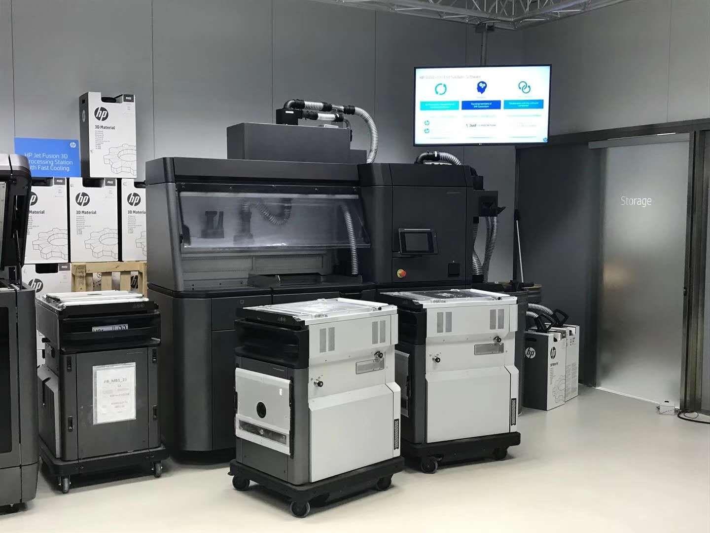 国内首个惠普全球3D打印批量化创新中心开始装机测试