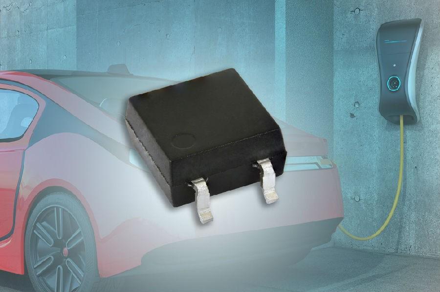 Vishay推出首款汽车级光电三极管耦合器