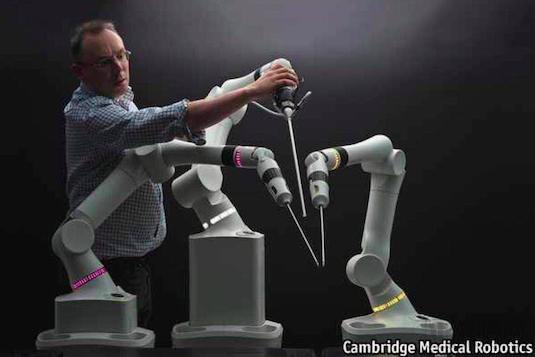 手术机器人全球市场争夺战打响!