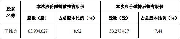 乾照光电股东王维勇减持1.48%股份-玩意儿