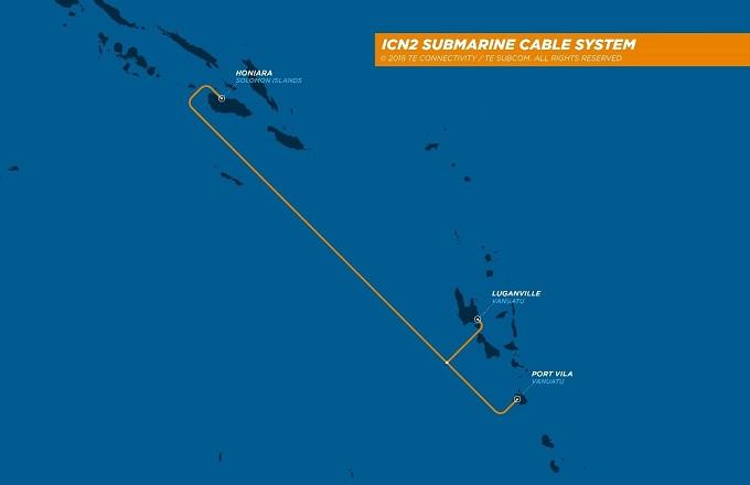 瓦努阿图-所罗门群岛海底光缆拟于2019年底投运