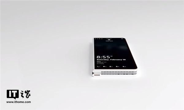 微软Surface Phone概念渲染视频:可折叠全面屏亮眼-玩意儿
