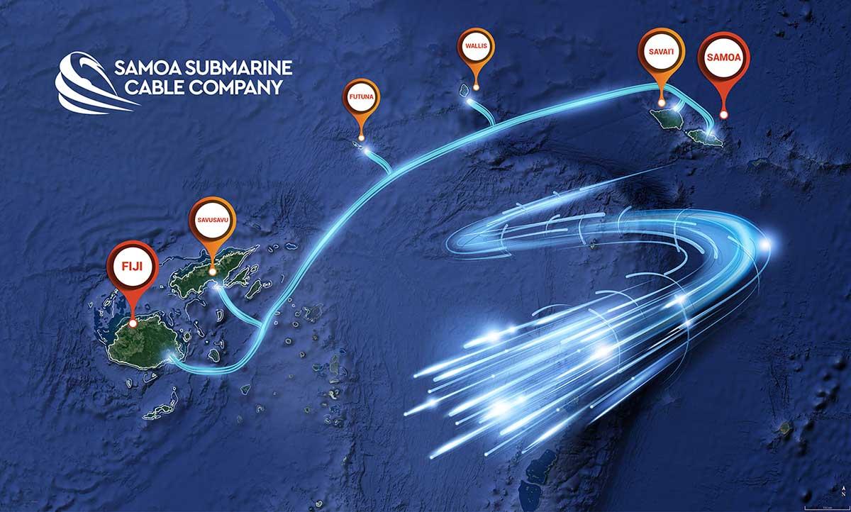 斐济阿皮亚至萨武萨武岛海缆拟于6月21日投产