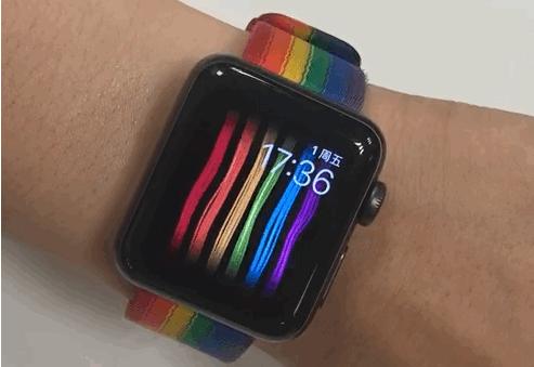 Apple Watch加入彩虹表盘 用户可抢先体验-玩意儿