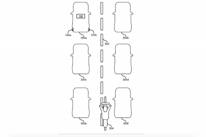 福特专利技术检测钻车缝摩托车 提升自动驾驶安全性
