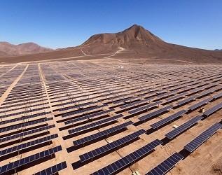 青海海西州国家第三批光伏发电应用领跑示范基地开工