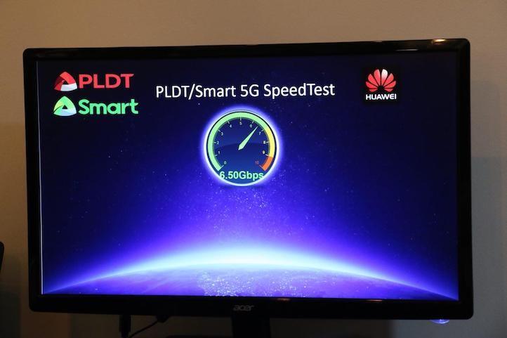 华为携Smart 5G测试实现6.5Gbps新突破